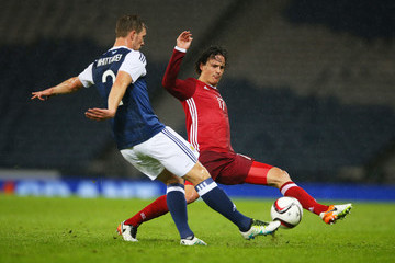 Steven Whittaker Scotland v Denmark - International Friendly