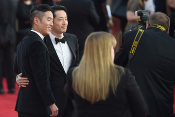 Steven Yeun The 23rd Annual Screen Actors Guild Awards - Red Carpet