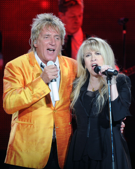 rod stewart wives. Classic rock icons Rod Stewart