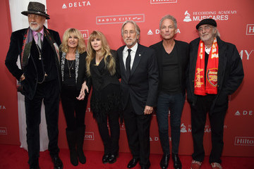Stevie Nicks John McVie 60th Annual GRAMMY Awards - MusiCares Person of the Year Honoring Fleetwood Mac - Red Carpet