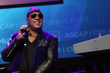Stevie Wonder Stevie Wonder Presented With Key of Life Award at the ASCAP I Create Music Expo