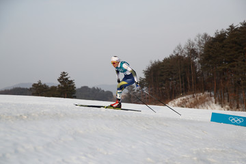 Stina Nilsson Cross-Country Skiing - Winter Olympics Day 1