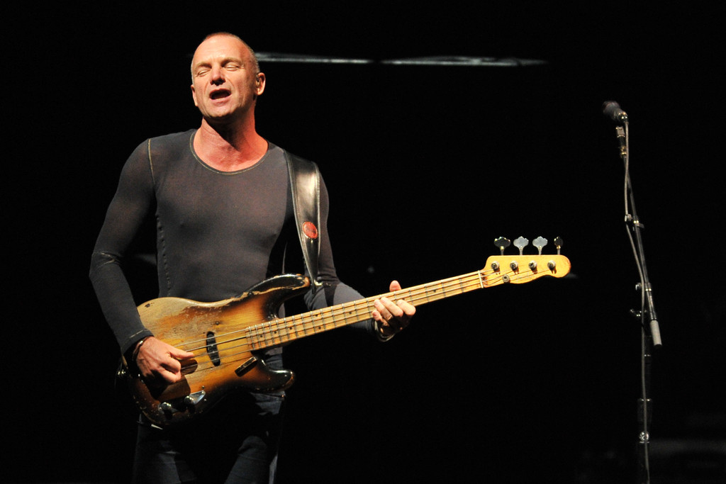 sting photos photos sting 39 s back to bass tour opening night zimbio. Black Bedroom Furniture Sets. Home Design Ideas