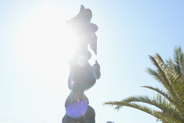 Sting Herb Alpert And His Totem Sculpture 'Freedom' Honored in Malibu