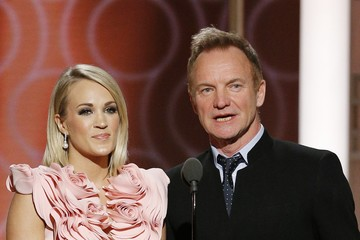 Sting 74th Annual Golden Globe Awards - Show