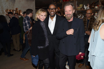 Sting Harvey Weinstein Hosts a Celebration For Forest Whitaker in Eugene O'Neill's Hughie