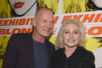 Sting The 40th Anniversary of Blondie Exhibition