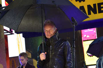Sting Sting Performs Never-Before-Heard Version Of 'Brand New Day' On New Year's Eve in Times Square