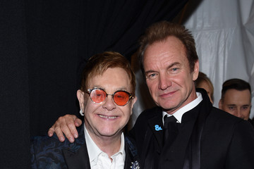 Sting 25th Annual Elton John AIDS Foundation's Oscar Viewing Party - Inside