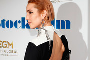 """Noomi Rapace attends the """"Stockholm"""" New York Premiere at Museum of Modern Art on April 11, 2019 in New York City."""