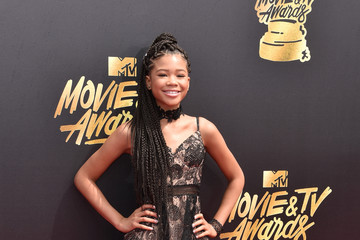 Storm Reid 2017 MTV Movie and TV Awards - Arrivals