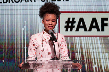 Storm Reid 10th Annual AAFCA Awards - Show