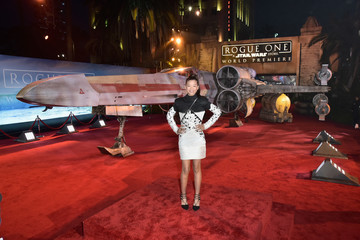 Storm Reid The World Premiere of 'Rogue One: A Star Wars Story'