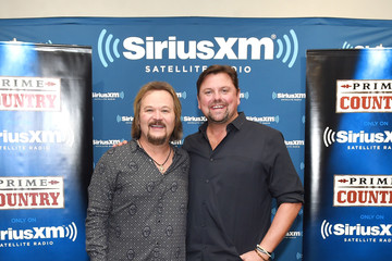 Storme Warren Travis Tritt Performs Live On SiriusXM's Prime Country Channel At The SiriusXM Nashville Studios