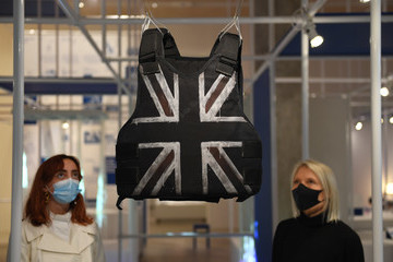 """Stormzy """"Beazley Designs Of The Year 2020"""" Exhibition At The Design Museum - Photocall"""