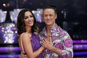 BIRMINGHAM, ENGLand - JANUARY 21:  Frankie Bridge andKevin Clifton. pose during Photocall for the Strictly Come Dancing Live Tour 2016 at Barclaycard Arena on January 21, 2016 in Birmingham, England.
