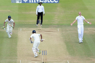 Stuart Broad England v India: 2nd Investec Test - Day Four