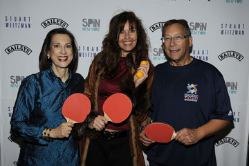 Jane Weitzman Stuart Weitzman Ovarian Cancer Ping Pong Tournament