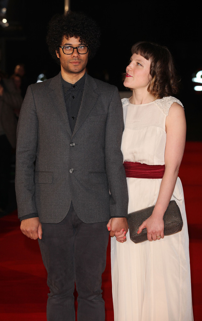 richard ayoade and lydia fox photos photos   submarine