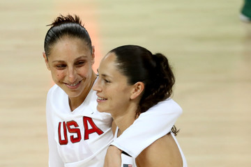 Sue Bird Badminton - Olympics: Day 15