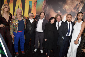 Sue Kroll Greg Silverman Premiere Of Warner Bros. Pictures' 'Mad Max: Fury Road' - Red Carpet