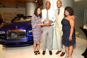 Quentin Richardson and Joy Glover Photos Photo