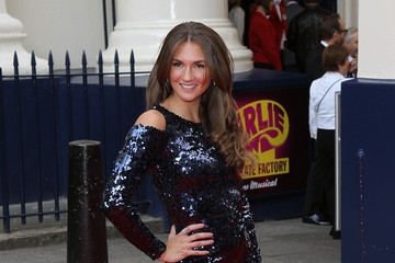 Summer Strallen Celebs Arrive for 'Charlie and the Chocolate Factory' — Part 3