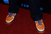 Actor Mekhi Phifer (shoes detail) arrives at Summit Entertainment's press event for the movies 'Ender's Game' and 'Divergent' at the Hard Rock Hotel San Diego on July 18, 2013 in San Diego, California.