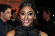 Alexandra Burke attends The Sun Military Awards 2020 at Banqueting House on February 06, 2020 in London, England.