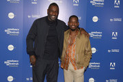 Director Idris Elba and actor Aml Ameen attend the 'Yardie' red carpet arrivals during the Sundance Film Festival at Picturehouse Central on June 1, 2018 in London, England.
