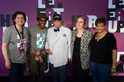 (L-R) Herb Karlitz, Marcus Samuelsson, David Dinkins, Gale Brewer and Inez Dickens attend a Sunday afternoon in Harlem presented by Aetna at Harlem EatUp! Festival on May 17, 2015 in New York City.