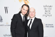 Jordan Roth and Richie Jackson attend 'Sunday In The Park With George' Broadway opening night at The Hudson Theatre on February 23, 2017 in New York City.