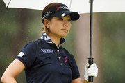 Rikako Morita of Japan looks on during the second round of the Suntory Ladies Open Golf Tournament at the Rokko Kokusai Golf Club on June 8, 2018 in Kobe, Hyogo, Japan.