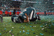 Patrick Robinson #21 of the Philadelphia Eagles celebrates after defeating the New England Patriots 41-33 in Super Bowl LII at U.S. Bank Stadium on February 4, 2018 in Minneapolis, Minnesota.