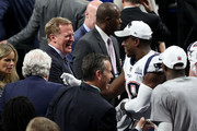 Roger Goodell and Matthew Slater Photos Photo