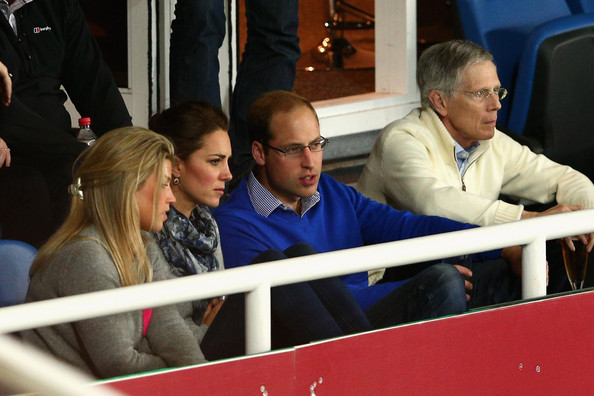 Prince William, Duke of Cambridge and Catherine, Duchess of Cambridge watch the round 10 Super Rugby match between the Waratahs and the Bulls at Allianz Stadium on April 19, 2014 in Sydney, Australia.