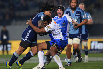 Napolioni Nalaga Super Rugby Rd 17 - Blues v Force