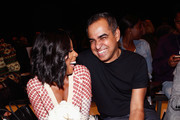 Celebrity stylist June Ambrose and designer Bibhu Mohapatra attend Supima Design Competition SS18 runway show during New York Fashion Week at Pier 59 on September 7, 2017 in New York City.