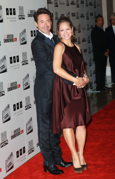 Susan+Downey+25th+American+Cinematheque+Award+kZKoorgvcUKl Parents to be Robert Downey Jr. and his wife Susan