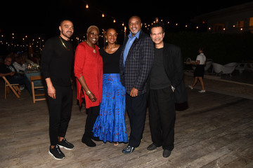 Susan L. Taylor Kickstarter Dinner In Honor Of Art Basel And Artist Glenn Kaino & Olympian Tommie Smith At The Standard Spa, Miami