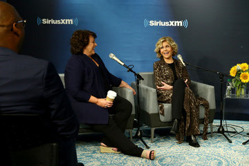 Susan Lacy SiriusXM's Hoda Kotb Interviews Oscar Winner Jane Fonda And Director Susan Lacy During A Town Hall Event In New York
