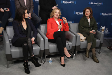 Susan Sarandon Jessica Lange SiriusXM's 'Town Hall' With The Cast Of 'Feud'
