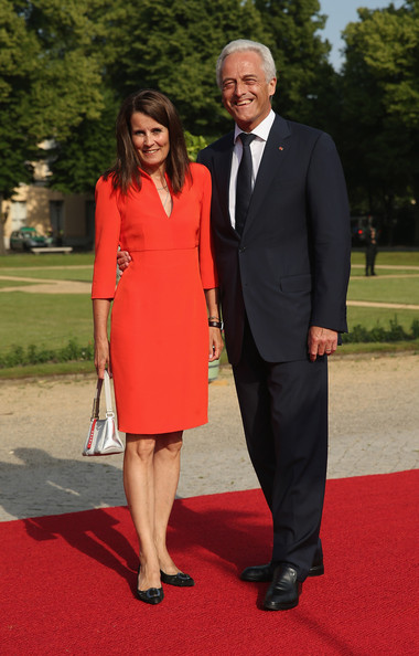 Guests Arrive at the Charlottenburg Palace Dinner