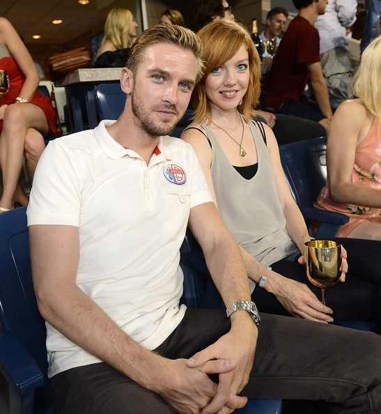Dan Stevens with cool, sexy, Wife Susie Hariet