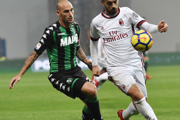 Suso US Sassuolo v AC Milan - Serie A