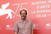 Luca Guadagnino attends 'Suspiria' photocall during the 75th Venice Film Festival at Sala Casino on September 1, 2018 in Venice, Italy.
