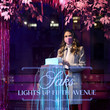 Sutton Foster Sutton Foster Celebrates the Holidays at Saks Lights Up Fifth Avenue Ceremony