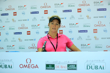 Suzann Pettersen Omega Dubai Ladies Masters - Previews