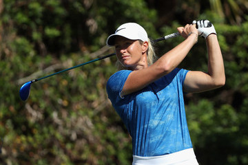 Suzann Pettersen CME Group Tour Championship - Round Two