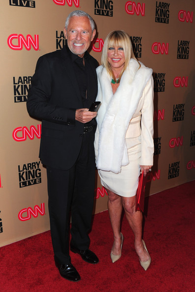 Suzanne Somers and husband